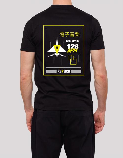 Tshirt reverb fuselage dos
